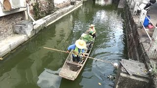Венеция в трущобах, китайская кухня, вечеринка в аквапарке летним выходным - Жизнь в Китае #160