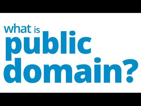 Public Domain 101