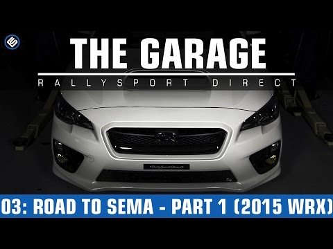 The Garage - Road to SEMA Part 1