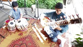 Raag Jhinjhoti: Gat in Drut Teen Taal and Jhala - IndianRaga Skyline Series