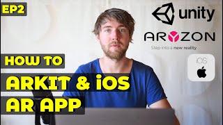 كيفية إنشاء لعبة الواقع المعزز w/ ARKit | الوحدة & Aryzon | AR مطوري البرنامج التعليمي Ep 2