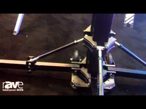InfoComm 2015: Mixware Details R5200 Goliath Studio Lighting and Speaker Stand