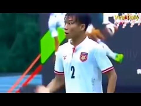 """Parodi Kocak!! Pemain Myanmar """"Wak Imin"""" Protes Karena Bakwan #Indonesia VS Myanmar Sea Games 2017"""