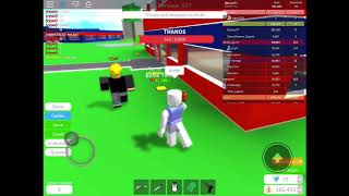 Roblox With My 1st 2 Real Fans!!!!!!