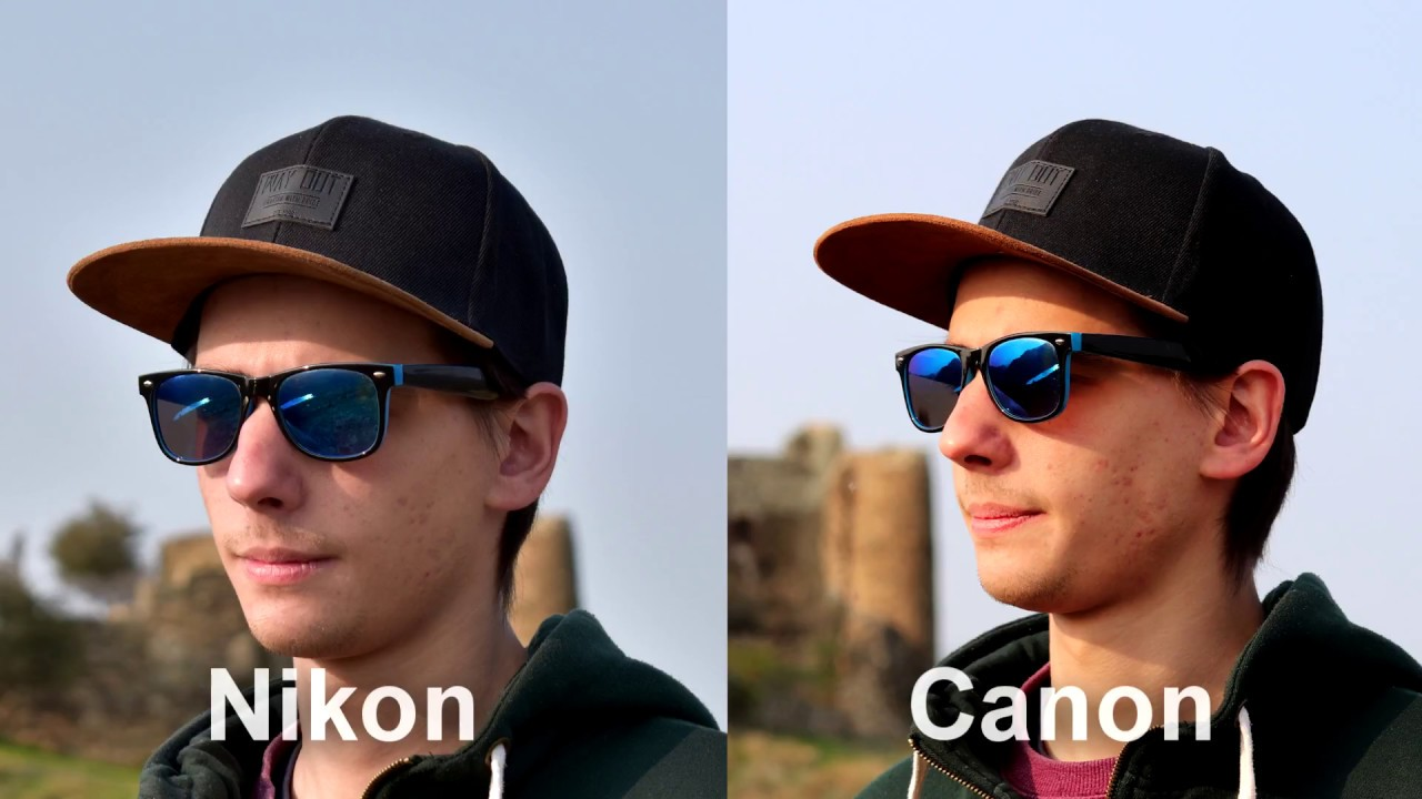 Canon EOS 800D vs Nikon D5600 by Zoommer