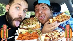 WE TRIED THE BEST HOT DOGS IN OUR STATE!! with JONAH HILL