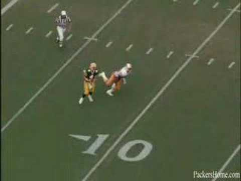 Brett Favre : First Completion