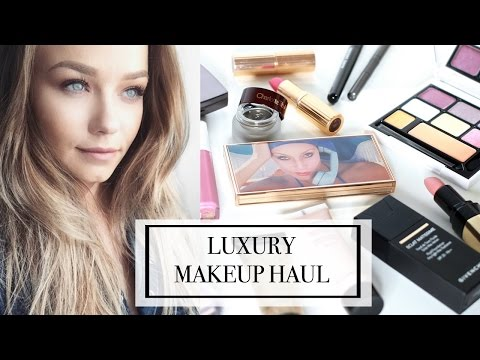 What's New: High End/ Luxury Makeup Unboxing Haul | Beauty.Life.Michelle