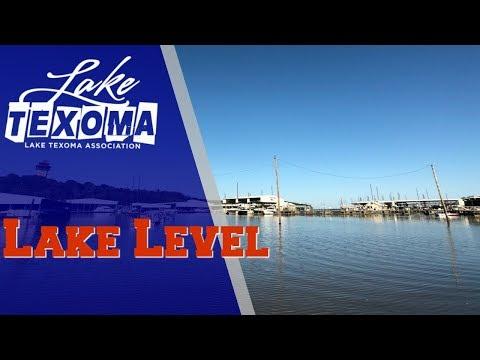 Lake Levels On Lake Texoma