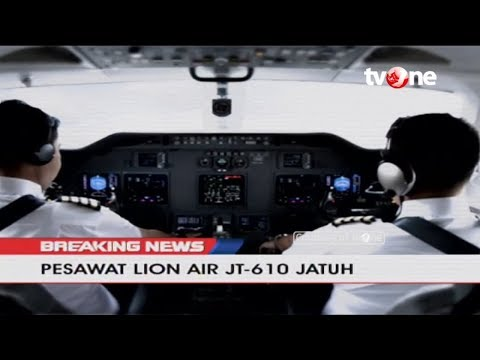 Here's the Chronology of Lion Air JT-610's Crash