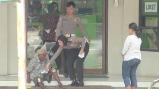 DIAM-DIAM REKAM POLISI TOLONG TUKANG BECAK, TERNYATA DILUAR DUGAAN ENDINGNYA...