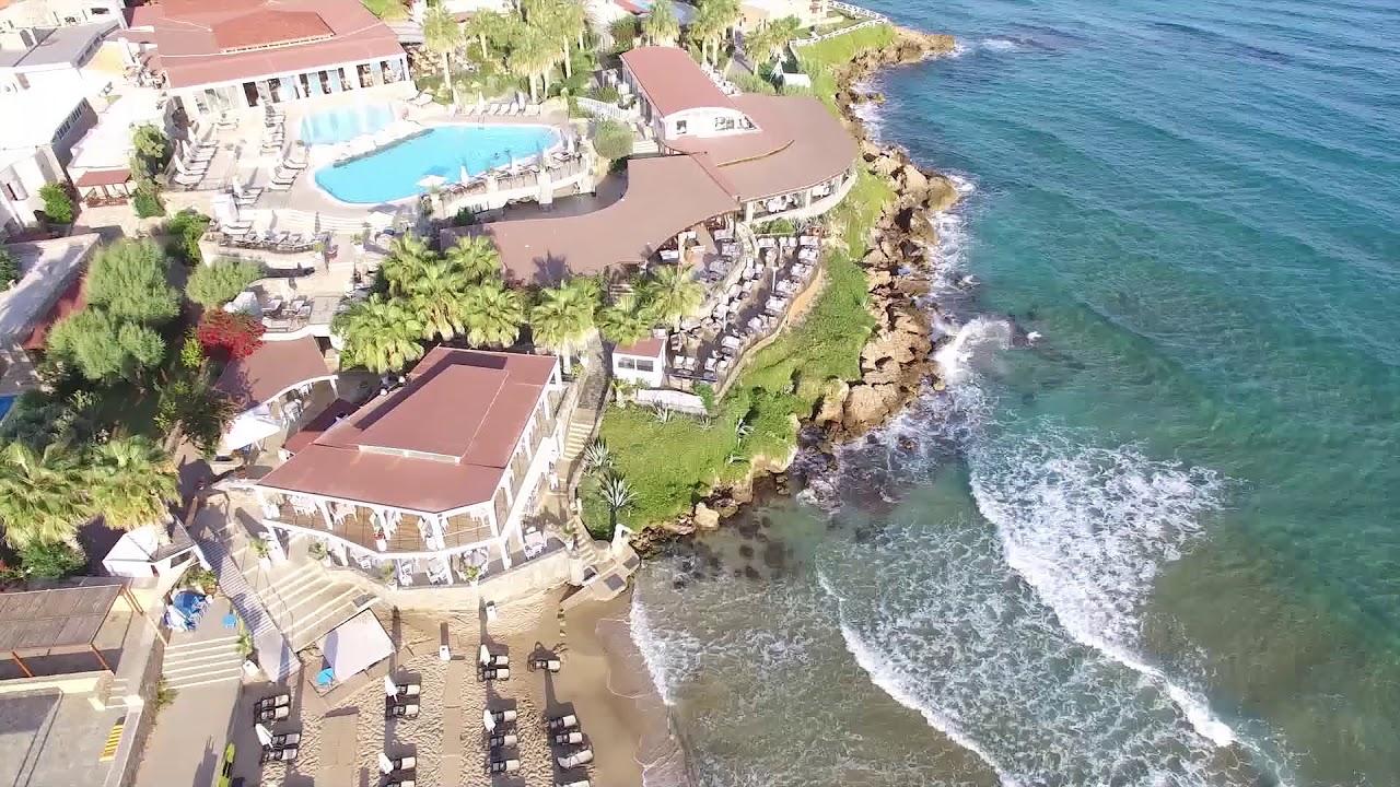 Ikaros Beach Luxury Resort and Spa - YouTube