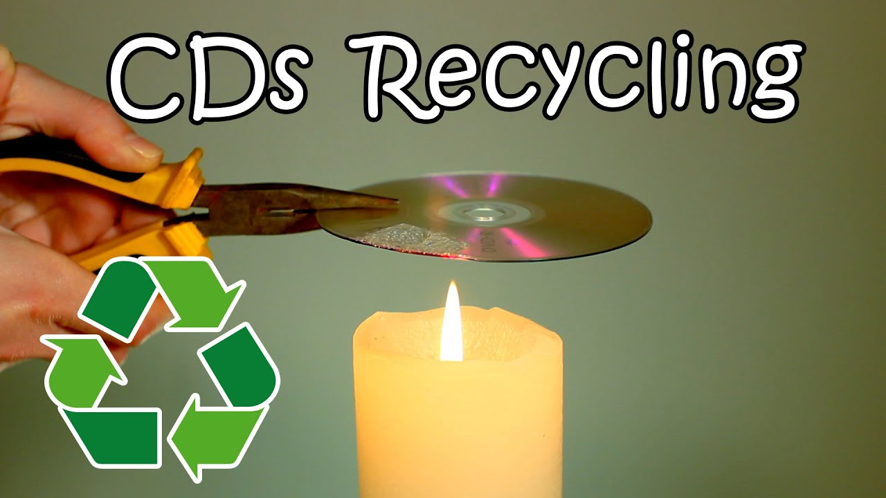Cds and dvds recycling how to recycle your old cds into for Waste things into useful things