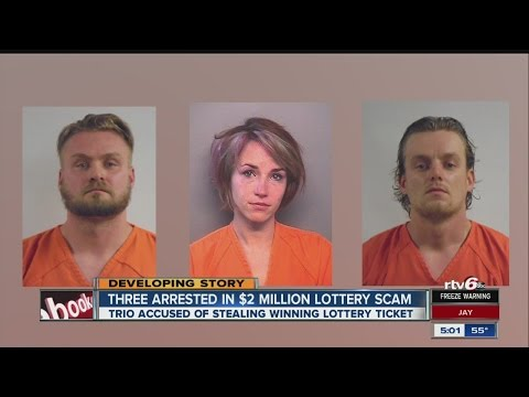 Trio accused of fraud in $2M lotto ticket claim