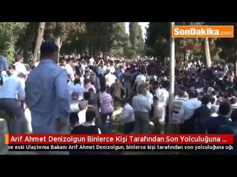 Ahmet Arif Denizolgun Abinin cenazesinden başka bir görüntü