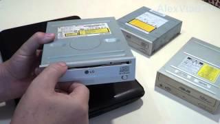 видео Как вытащить (извлечь) диск из дисковода (привода) компьютера (ноутбука)