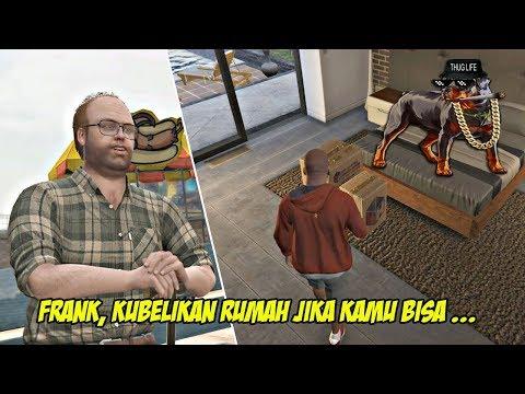 FRANKLIN DAPAT RUMAH DARI LESTER & AJAK JALAN CHOP   GTA 5 MISI 30 : HOTEL ASSASINATION   PC