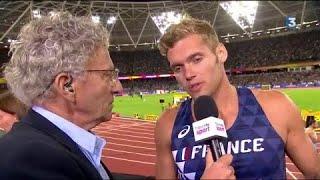 Mondiaux d'athlétisme : Kevin Mayer