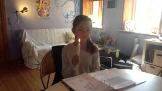 Clara laver hård kort lang vokal