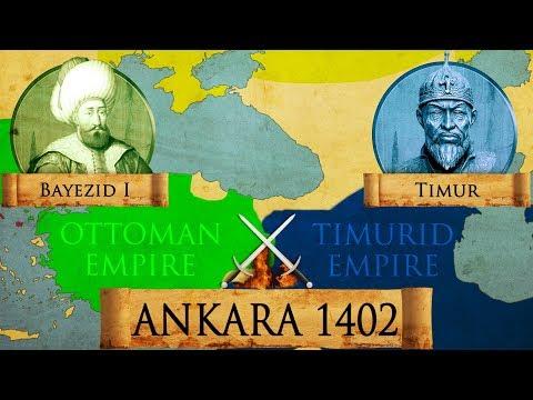 Battle of Ankara 1402 Ottoman - Timurid War DOCUMENTARY