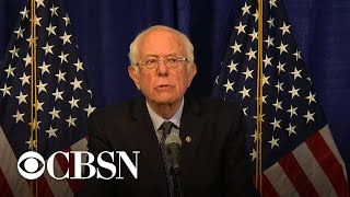 Bernie Sanders says he's staying in presidential race