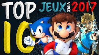 TOP 10 JEUX VIDÉO 2017