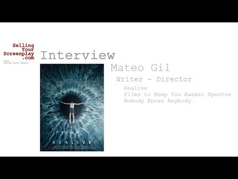 SYS 195: Writer  Director Mateo Gil Talks About His New SciFi Drama, Realive
