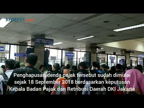 Wajib Pajak Padati Samsat Jakarta Timur Pada Hari Terakhir Penghapusan Denda Pajak Mp3