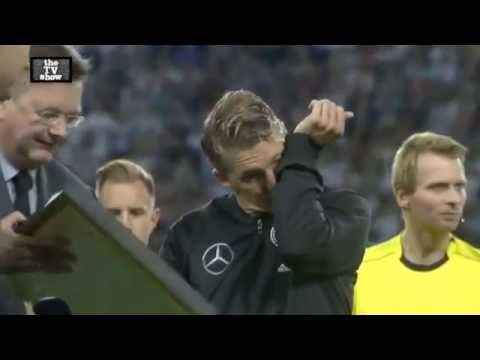 Bastian Schweinsteiger crying in his LAST match vs Finland