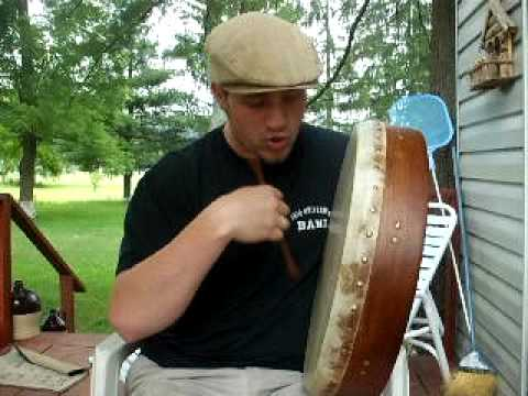 Shawn singing Gaelic Storm's Johnny Tarr