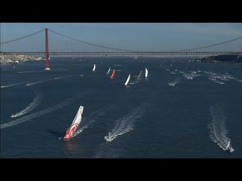 Volvo Ocean Race diz adeus a Lisboa - sport