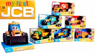 My first talking JCB - Working machines and Trucks for kids / Рабочие машины для детей