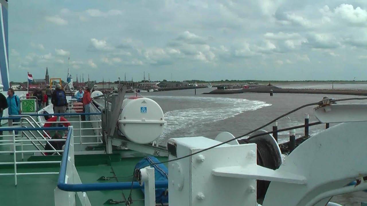 Naar Terschelling met de MS Friesland in 1080p HD