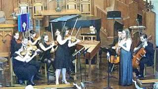 Double Concerto for Oboe & Violin in C Minor, BWV 1060 - Mvt 2 - Recital 2009
