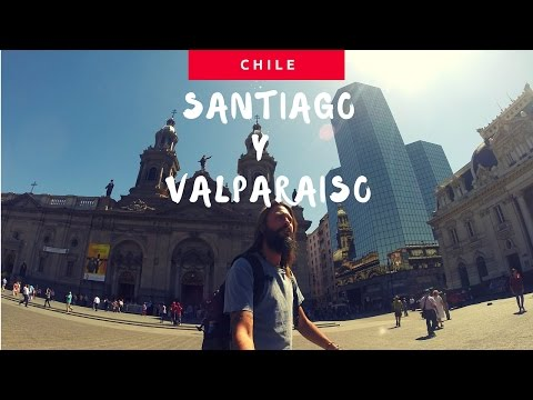 Discovering Santiago and Valparaiso Trip Therapy - GoProHero HD