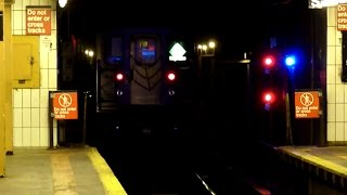IRT R62A and R142A 6 trains at 3rd Avenue - 138th Street