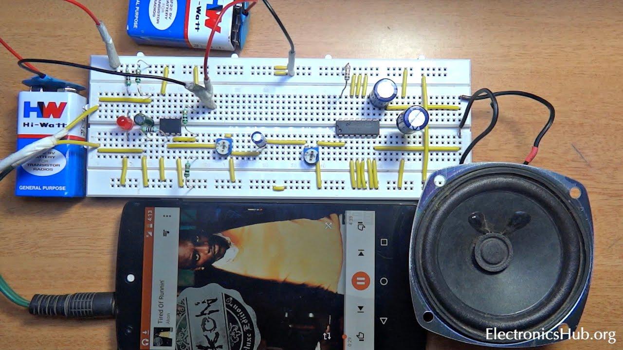How To Make Pre Amplifier Youtube Motorola Hifi Power Circuit Design