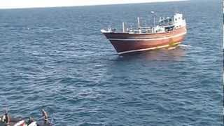 Caccia a pirati Somali  parte 3.