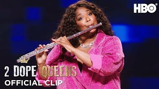 Download Lizzo's Flute & Twerk Lesson   2 Dope Queens   Season 2 Mp3 and Videos