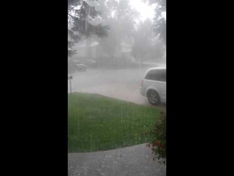 July 8 2016 Colorado Springs Hail Storm