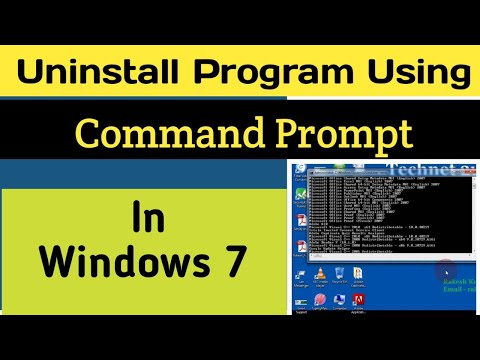 Uninstall driver windows 10 command line