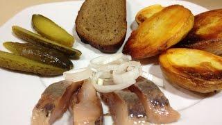 Картофель в духовке - Как Вкусно Запечь Картошку Видео