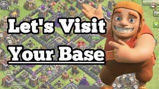 Let's visit your base | CLASH OF CLANS