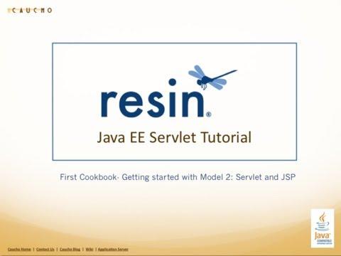Java EE Servlet JSP Tutorial - Cookbook 1 - Part 2