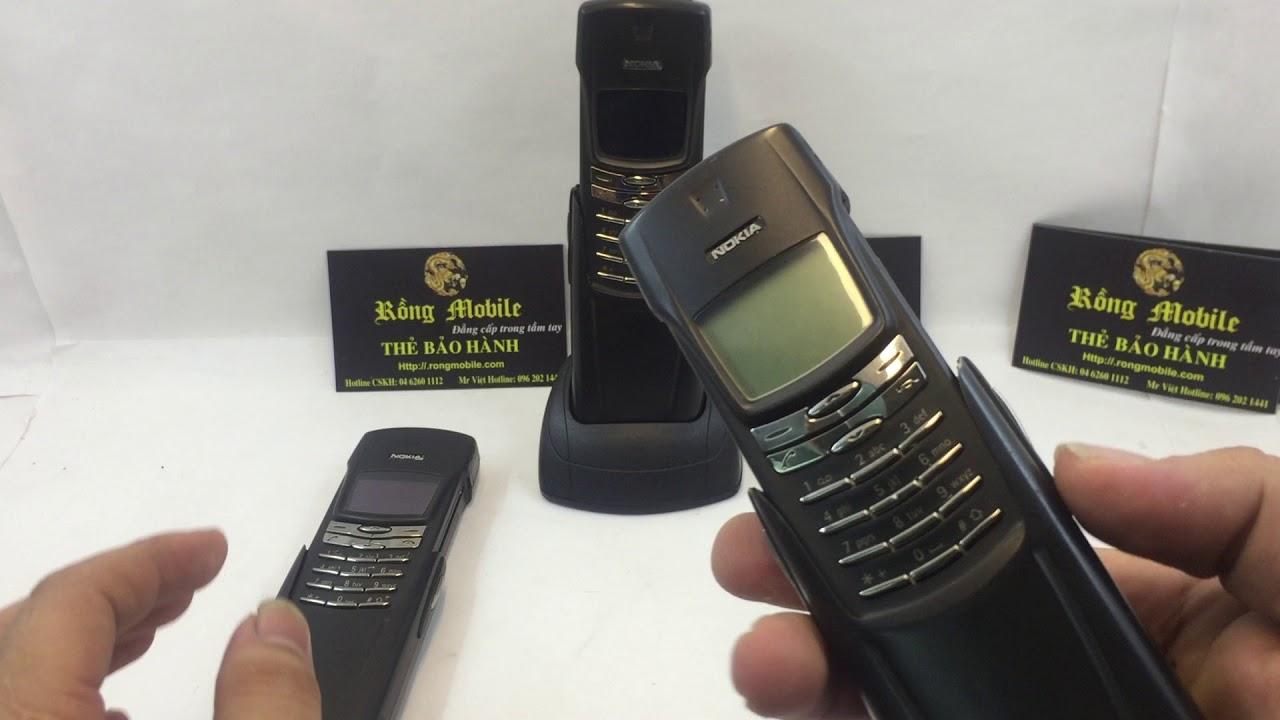 Nokia 8910, 8910i Chính Hãng Nguyên Bản Cáp Đỏ Hiếm Gặp