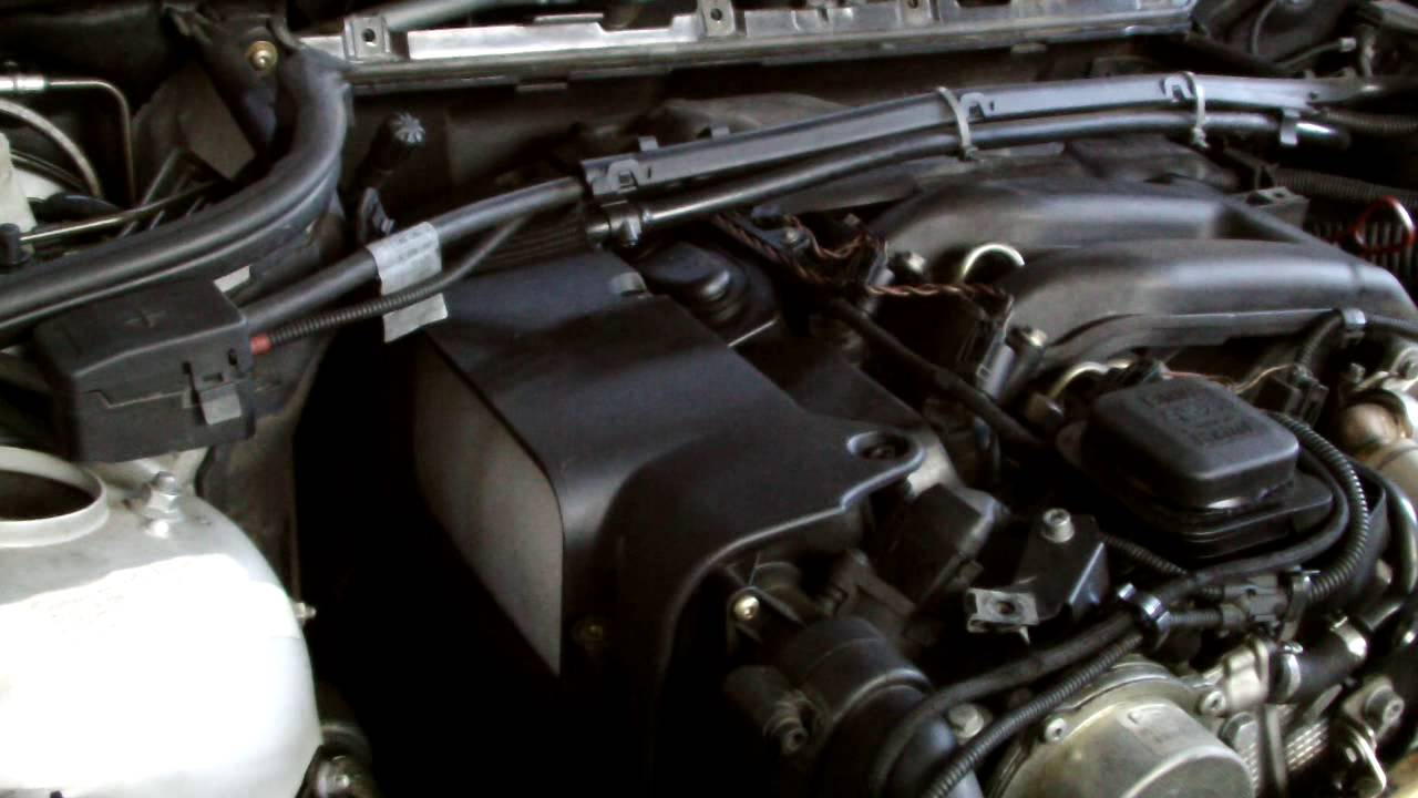 bmw air filter replacment youtube