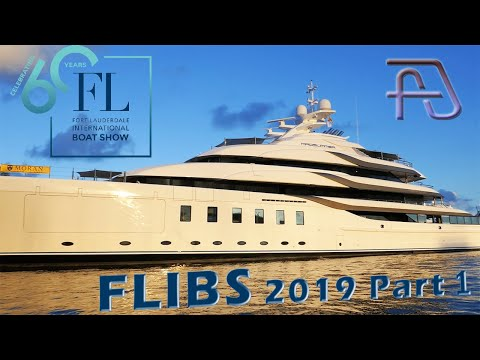 Fort Lauderdale International Boat Show 60th Anniversary Opening Day - Part 1 FLIBS 2019