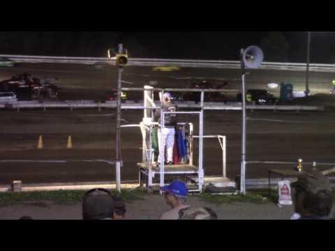 Hummingbird Speedway (8-6-16): Aaron's of DuBois Front-Wheel Drive 4-Cylinder Feature