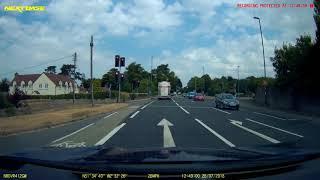 2018-07-26 - EuroMix truck SB63GWN drives through red light