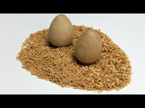 Woodturning - How to Turn a Perfect Wooden Egg